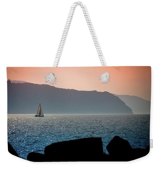 Sailng Weekender Tote Bag