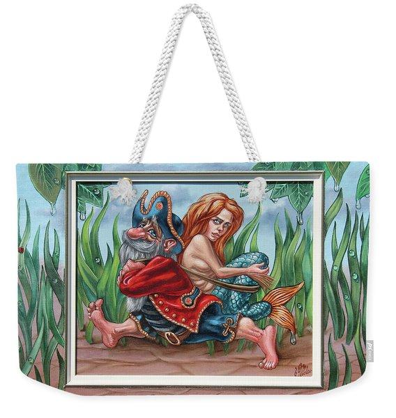 Sailor And Mermaid Weekender Tote Bag