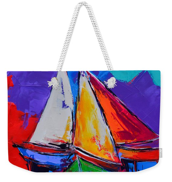 Sails Colors Weekender Tote Bag