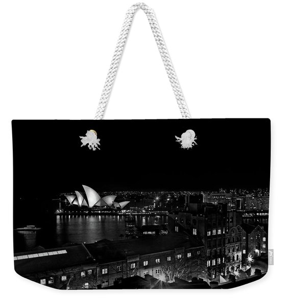 Sails In The Night Weekender Tote Bag