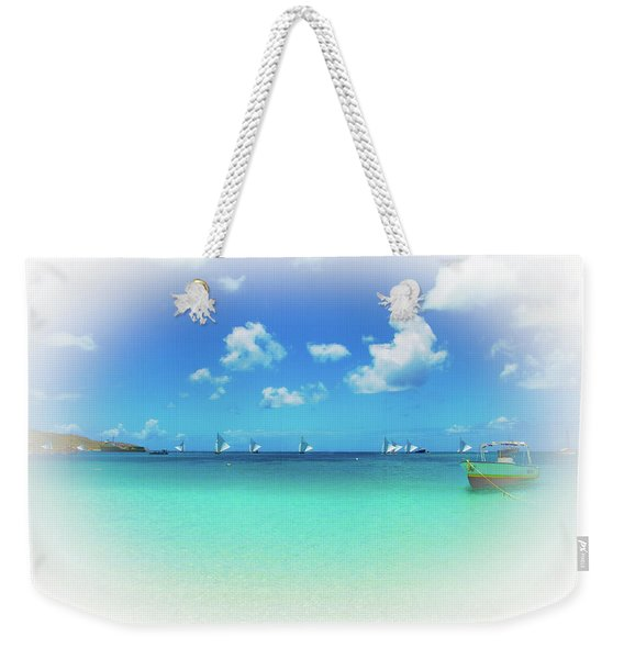 Sails In The Wind Sandy Ground Anguilla Weekender Tote Bag