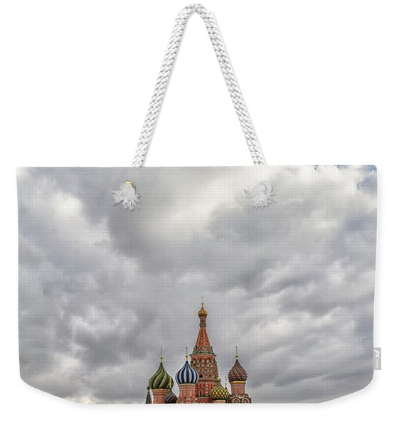 Saint Basil's Cathedral Moscow Weekender Tote Bag
