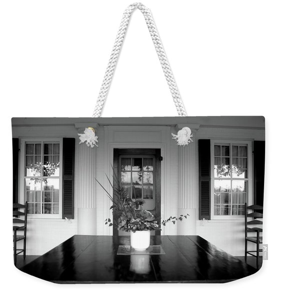 Saint Gaudens Porch Weekender Tote Bag