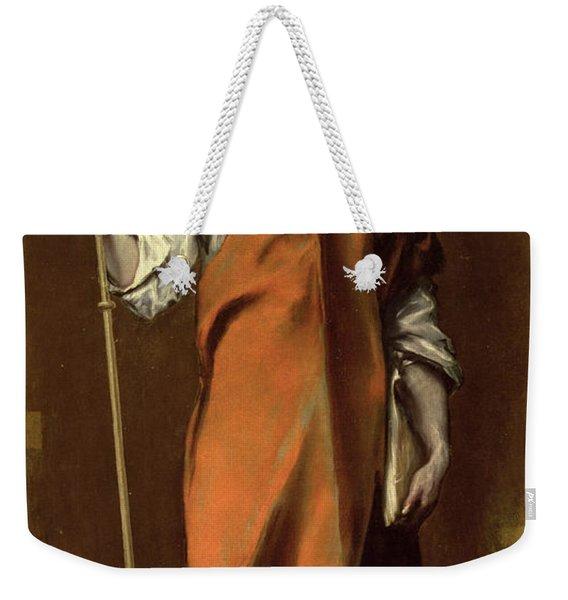 Saint James The Greater Weekender Tote Bag