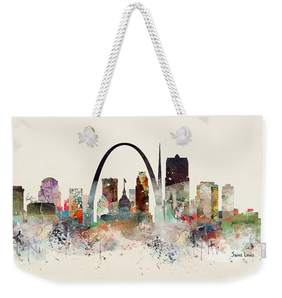 Saint Louis Missouri Weekender Tote Bag