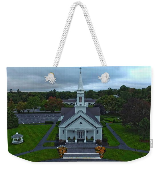 Saint Mary's Church From Above Weekender Tote Bag