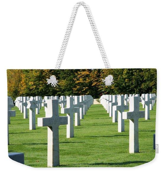 Saint Mihiel American Cemetery Weekender Tote Bag