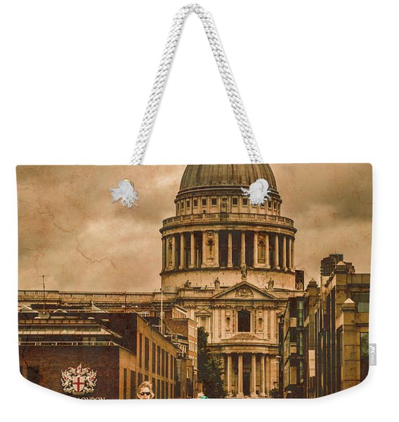 London, England - Saint Paul's In The City Weekender Tote Bag