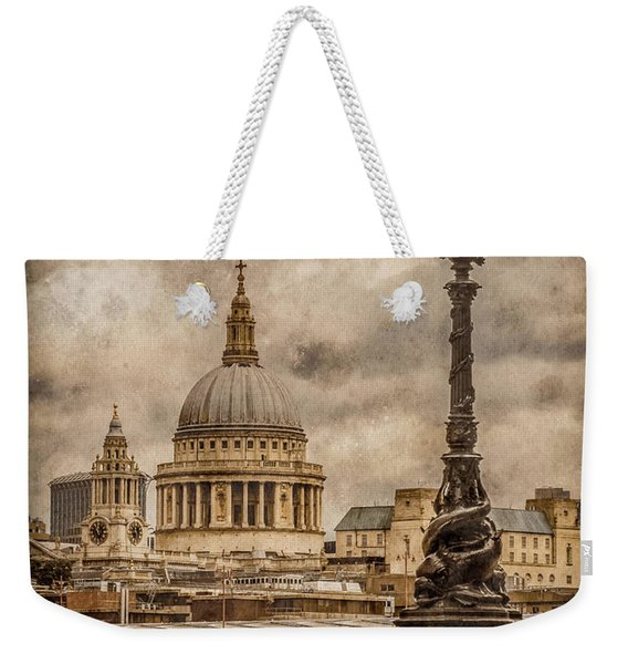 London, England - Saint Paul's Weekender Tote Bag