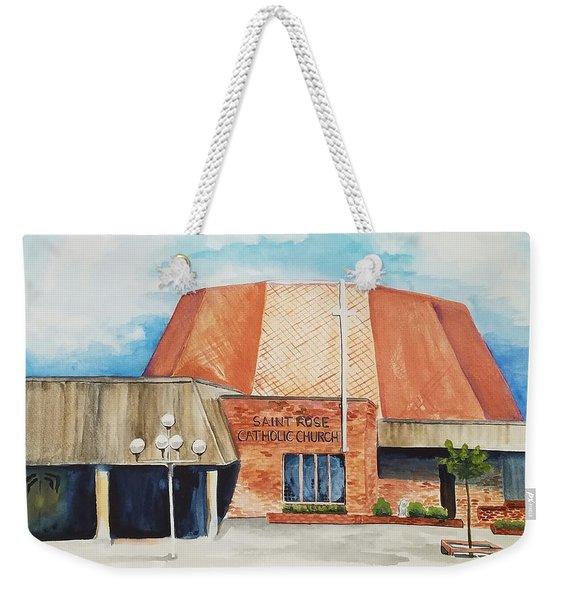 Saint Rose Weekender Tote Bag
