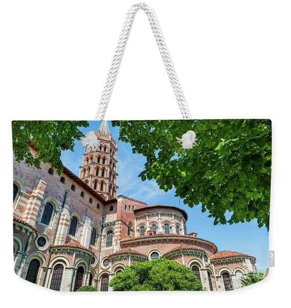 Saint Sernin Basilica Weekender Tote Bag
