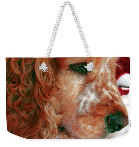 Saint Shaggy Art Photograph  14 Weekender Tote Bag