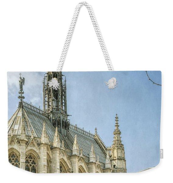 Sainte Chapelle Paris Weekender Tote Bag