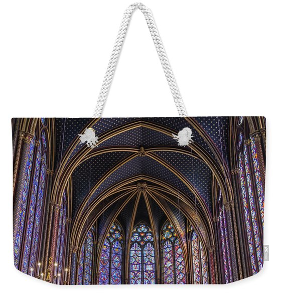 Sainte Chapelle Stained Glass Paris Weekender Tote Bag