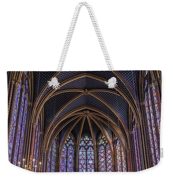 Sainte Chapelle Stained Glass Paris Weekender Tote Bag