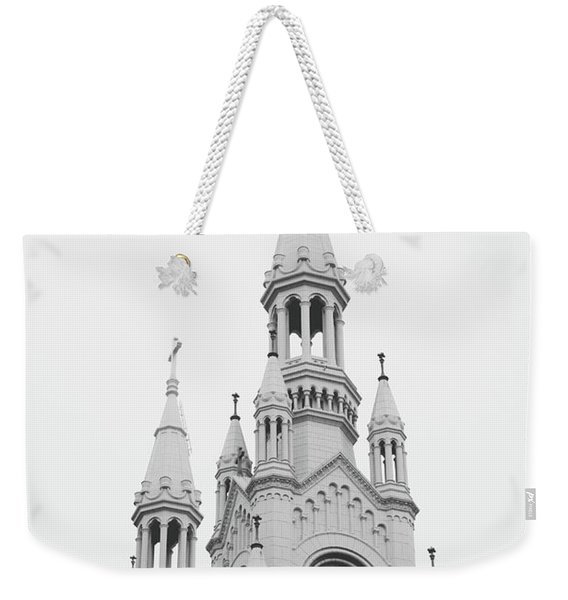 Saints Peter And Paul Church 1- By Linda Woods Weekender Tote Bag