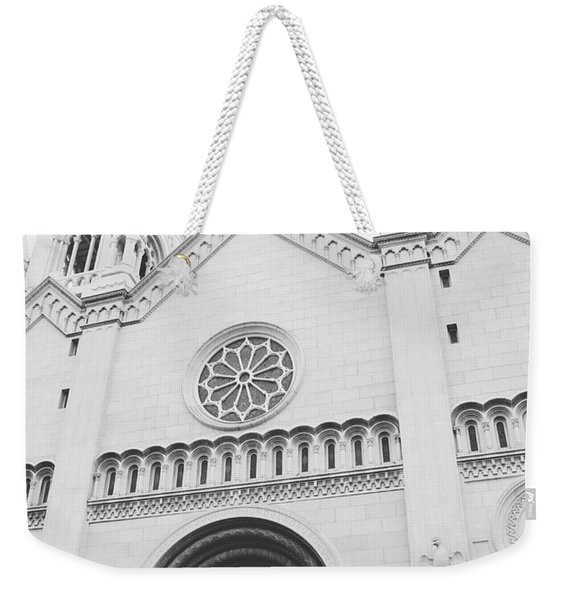 Saints Peter And Paul Church 2-  By Linda Woods Weekender Tote Bag