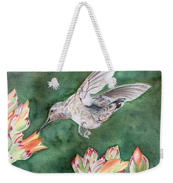Saki's Visit Weekender Tote Bag