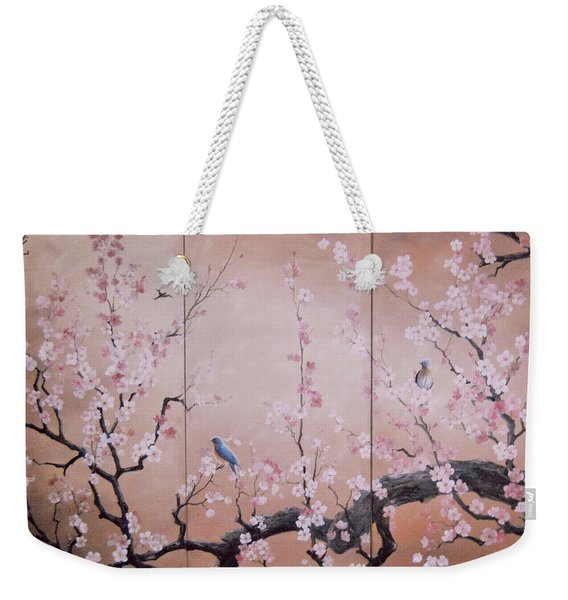 Sakura - Cherry Trees In Bloom Weekender Tote Bag