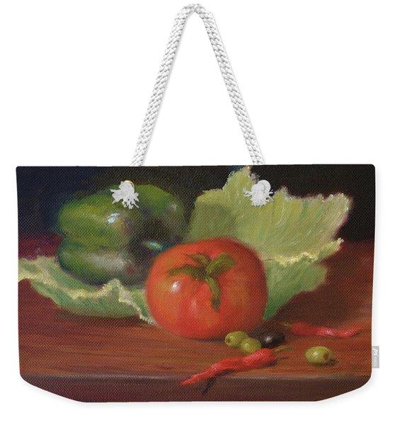 Salad By Alan Zawacki Weekender Tote Bag