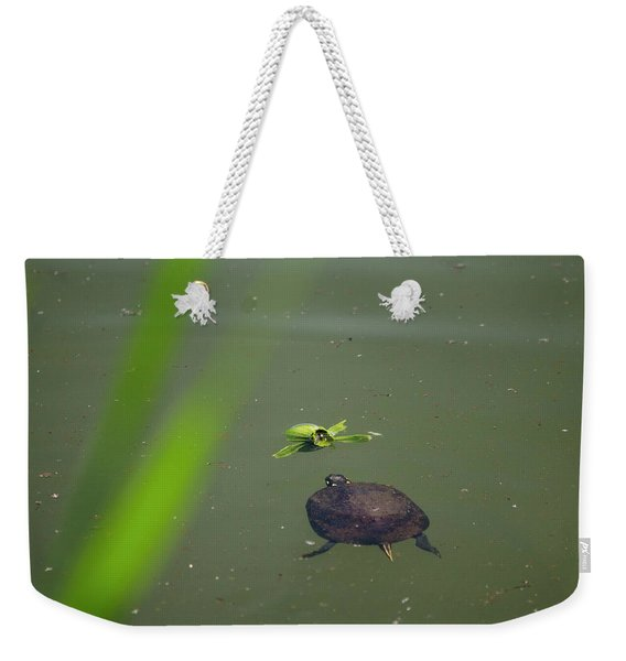 Lunch Weekender Tote Bag