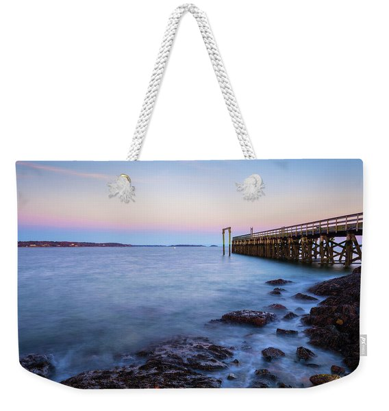 Salem Willows Sunset Weekender Tote Bag