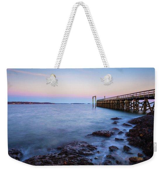 Salem Willows Sunset Weekender Tote Bag