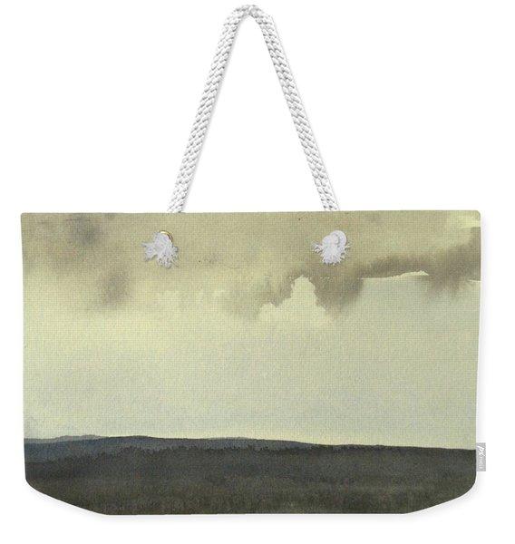 Salen Cloudy Weather. Up Tp 60 X 60 Cm Weekender Tote Bag