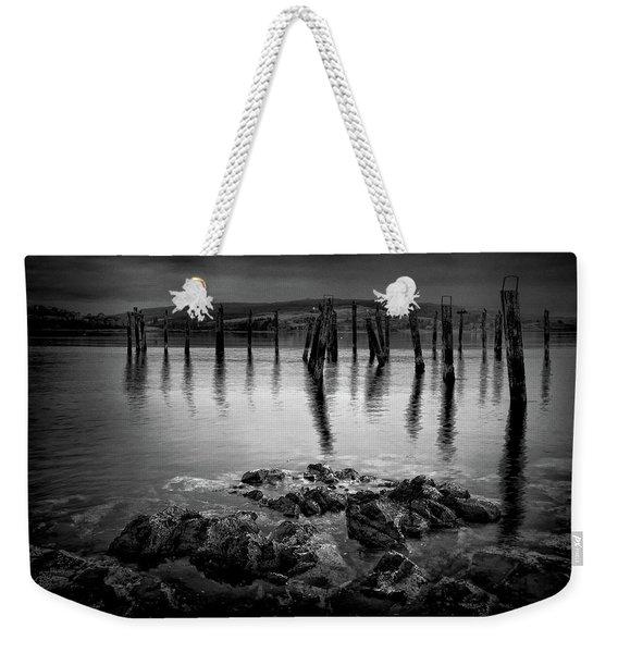 Salen Pier, Isle Of Mull Weekender Tote Bag