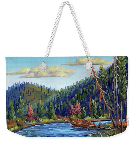 Salmon River - Stanley Weekender Tote Bag