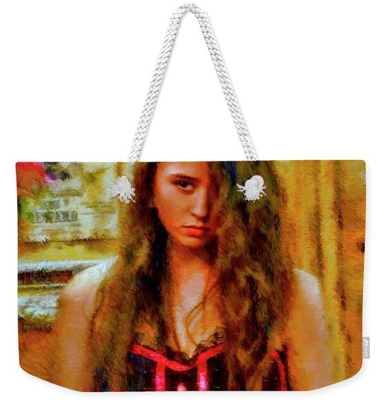 Saloon Girl Weekender Tote Bag