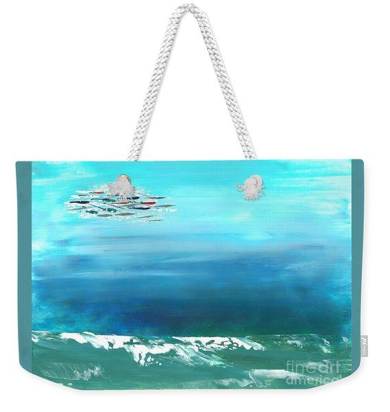 Salt Air Weekender Tote Bag