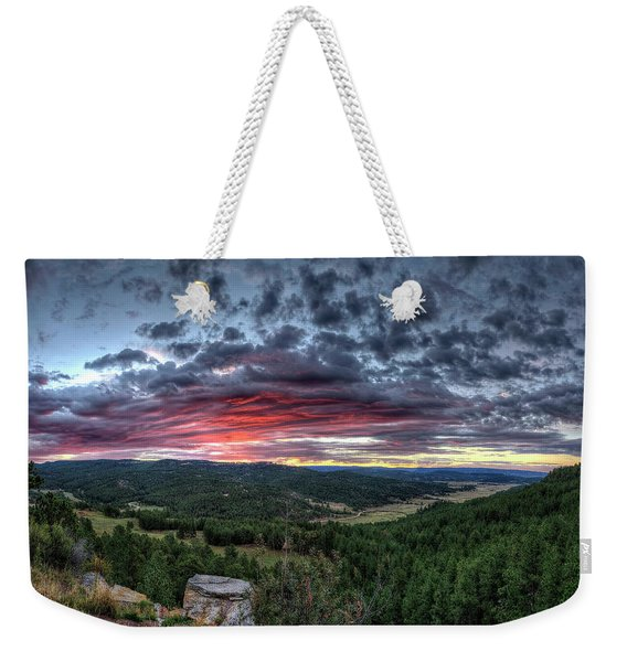 Salt Creek Sunrise Weekender Tote Bag