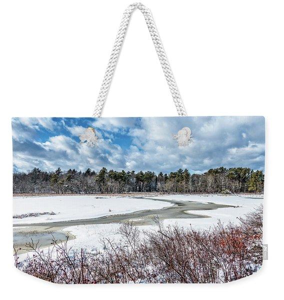 Salt Marsh Meander Weekender Tote Bag