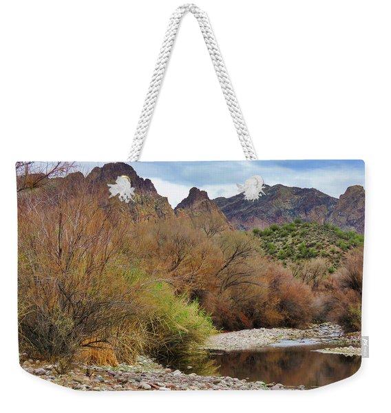 Salt River Pebble Beach Weekender Tote Bag