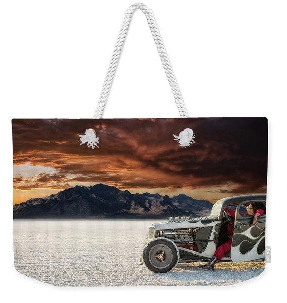 Salt Sunset Weekender Tote Bag