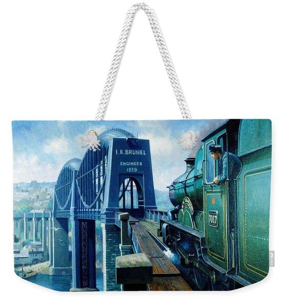 Saltash Bridge. Weekender Tote Bag