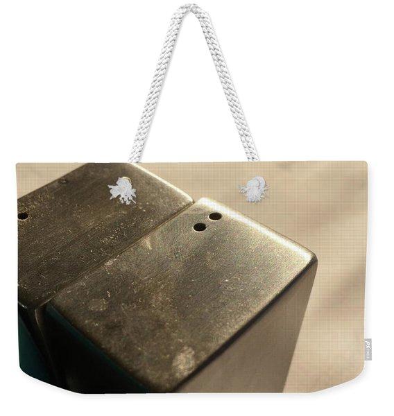 Saltpepper Weekender Tote Bag