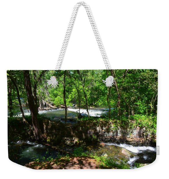 Saluda River Columbia Sc Weekender Tote Bag