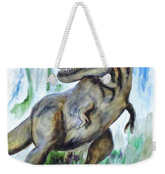 Salvatori Dinosaur Weekender Tote Bag