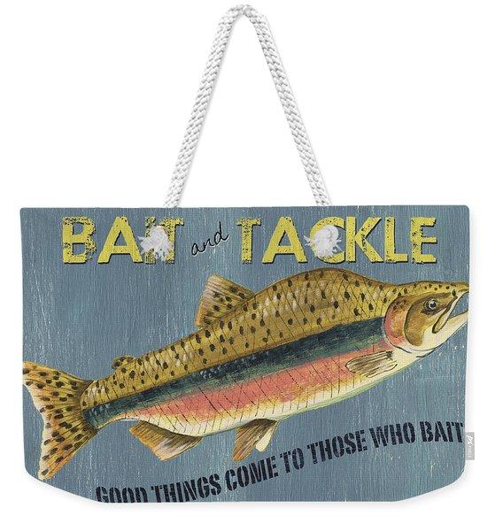 Sam Egan's Bait And Tackle Weekender Tote Bag