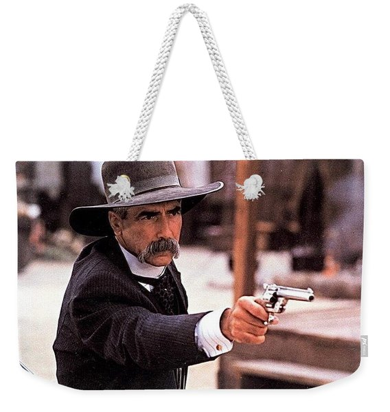 Sam Elliot As Virgil Earp Mescal Arizona Tombstone Film 1993 Weekender Tote Bag