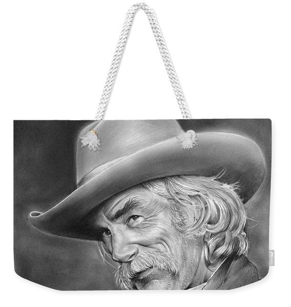 Sam Elliott Weekender Tote Bag