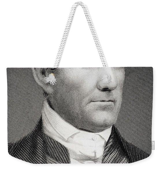 Sam Houston Weekender Tote Bag