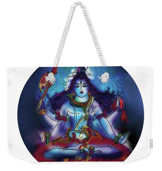Samadhi Shiva Weekender Tote Bag