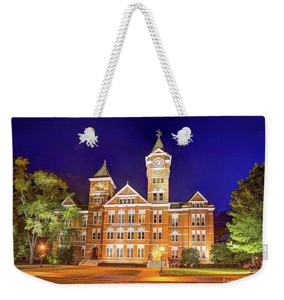 Samford Hall At Night Weekender Tote Bag