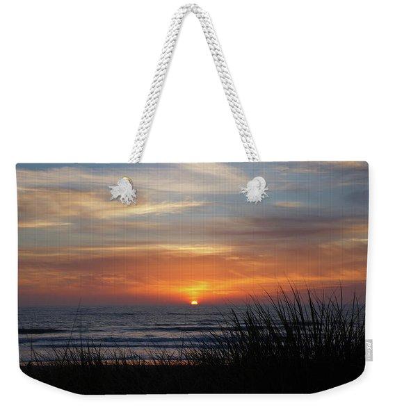 Samoa Dunes Sunset Weekender Tote Bag