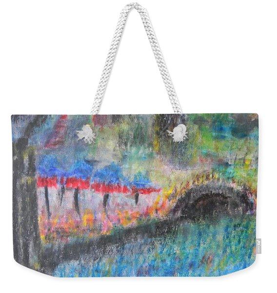 San Antonio By The River I Weekender Tote Bag