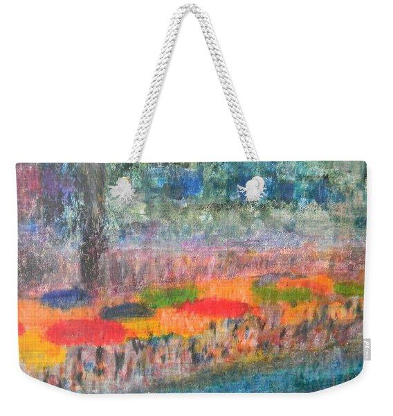 San Antonio By The River II Weekender Tote Bag
