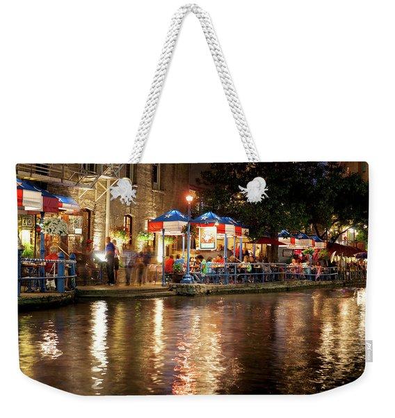 San Antonio River Walk 72516 Weekender Tote Bag